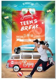 SUMMER TEEN'S BREAK AVEC FUN RADIO A SAINT PIERRE