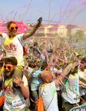 COLOR PEOPLE RUN SAINT-PIERRE LA MER - 2EME ÉDITION