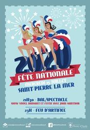 FETE NATIONALE A SAINT-PIERRE - GRAND SHOW ET FEUX D'ARTIFICE