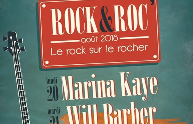 LE ROCK SUR LE ROC - MARINA KAYE 1 - Fleury